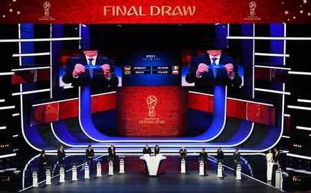 عکس های مراسم قرعه کشی جام جهانی 2018 10 عکس های مراسم قرعه کشی جام جهانی 2018
