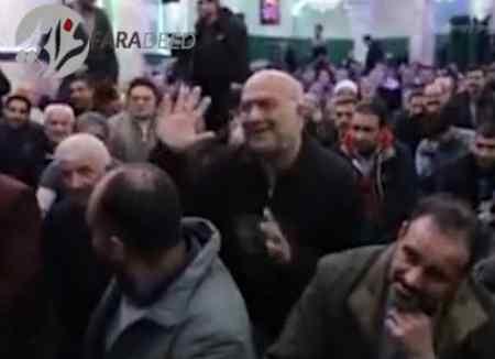 فیلم واکنش رحیم پور ازغدی به آقای دوربینی