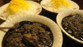 انشا در مورد طعم خورشت قورمه سبزی (1)