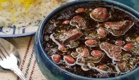 انشا در مورد طعم خورشت قورمه سبزی (4)