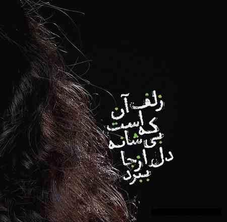 شعر زلف آن است که بى شانه دل از جا ببرد از شهریار (1)