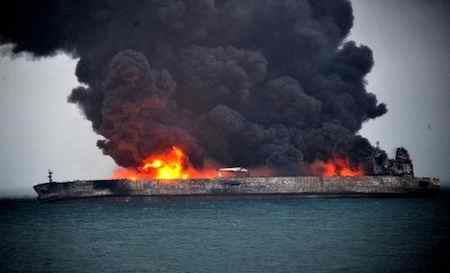علت غرق شدن کشتی سانچی چه بود علت غرق شدن کشتی سانچی چه بود