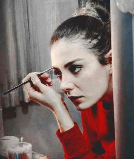 عکس های آسیه در سریال زندگی گمشده و بیوگرافی اوزلم یلماز (2)