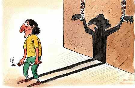 نقاشی درباره آسیب های اجتماعی با موضوعات مختلف (4)