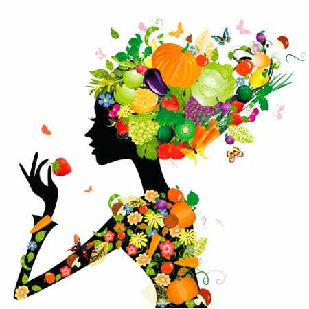 نقاشی درباره تغذیه سالم با ایده های جدید 11 نقاشی درباره تغذیه سالم با ایده های جدید