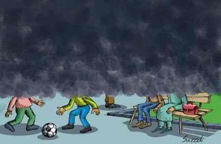 نقاشی در مورد آلودگی هوا (13)