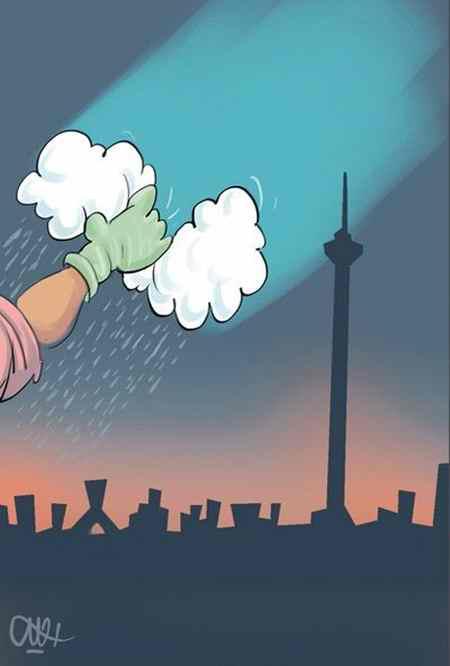 نقاشی در مورد آلودگی هوا (19)