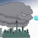 نقاشی در مورد آلودگی هوا
