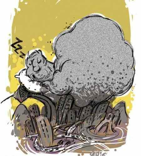 نقاشی در مورد آلودگی هوا 9 نقاشی در مورد آلودگی هوا