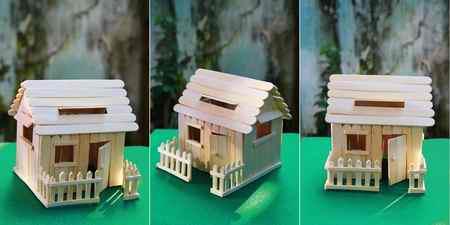 کاردستی با چوب بستنی ساده و خلاقانه (5)