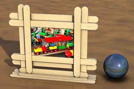 کاردستی با چوب بستنی ساده و خلاقانه (7)