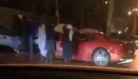 تصادف فراری در تهران