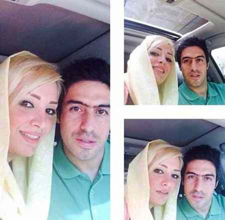 عکس خسرو حیدری و همسرش (2)