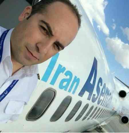 عکس خلبان های هواپیمای سقوط کرده پرواز تهران یاسوج (2)