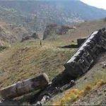 علت واژگونی قطار دیزباد نیشابور