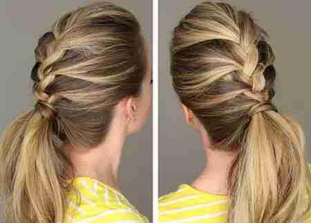 روش بافت مدل موی فرانسوی 1 روش بافت مدل موی فرانسوی