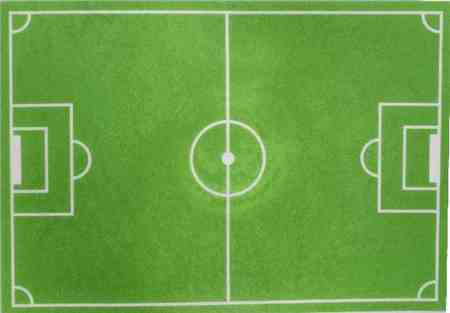 زمین فوتبال چند متر است