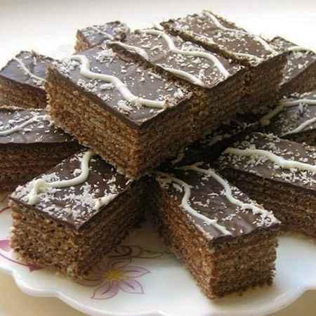 طرز تهیه شیرینی میکادو خانگی (1)