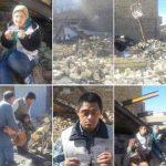 ماجرای تخریب خانه مادر پیر و فرزندان معلولش توسط ماموران شهرداری ارومیه