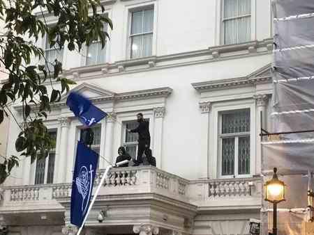 ماجرای حمله به سفارت ایران در لندن 2 ماجرای حمله به سفارت ایران در لندن