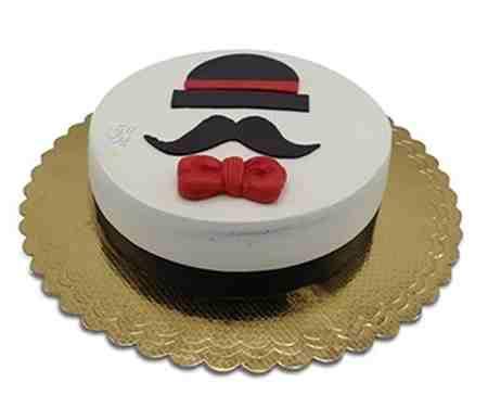 مدل کیک روز پدر شکلاتی و میوه ای (4)
