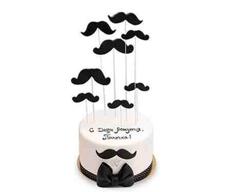 مدل کیک روز پدر شکلاتی و میوه ای (6)