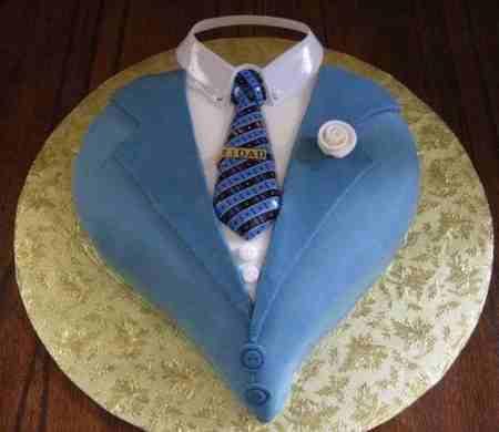 مدل کیک روز پدر شکلاتی و میوه ای (8)