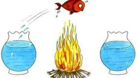 نقاشی در مورد چهارشنبه سوری طنز و کاریکاتور (5)