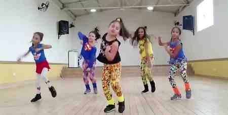 ورزش و رقص شاد فیتنس برای کودکان