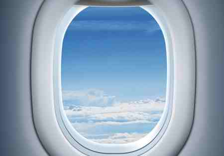 چرا پنجره هواپیما گرد بیضی است (1)