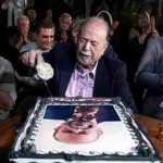 جشن تولد 88 سالگی محمد علی کشاورز