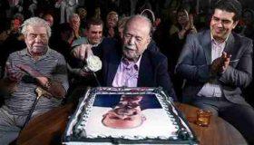جشن تولد 88 سالگی محمد علی کشاورز (1)