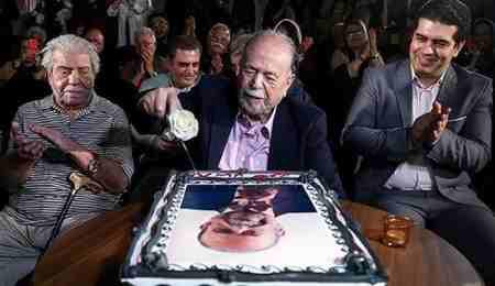 جشن تولد 88 سالگی محمد علی کشاورز 1 جشن تولد 88 سالگی محمد علی کشاورز