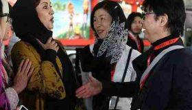 ماجرای دست ندادن مریلا زارعی با مرد چینی