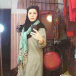 مهسا نظری بازیگر نقش خاله گلبرگ در سریال قصه های یاسین