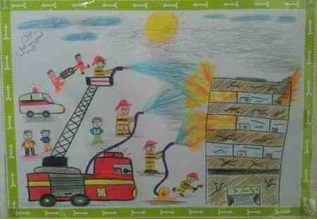 نقاشی درمورد شجاعت (2)