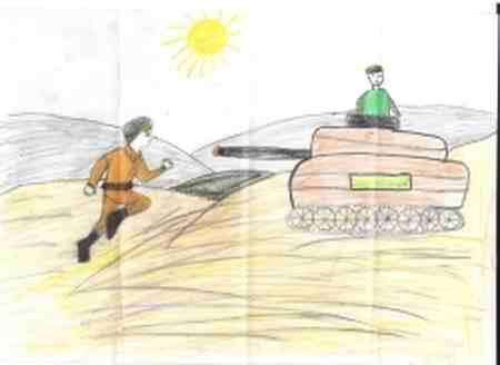 نقاشی درمورد شجاعت 4 نقاشی درمورد شجاعت