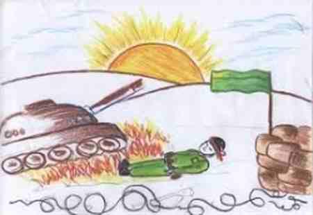 نقاشی درمورد شجاعت 7 نقاشی درمورد شجاعت