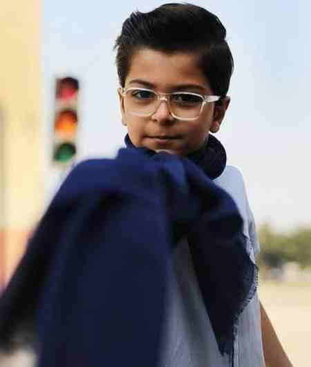بازیگر نقش جواد در سریال بچه مهندس (5)