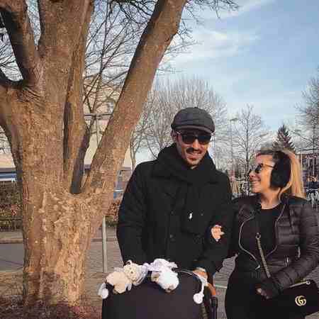 بیوگرافی رضا قوچان نژاد فوتبالیست و همسرش (5)