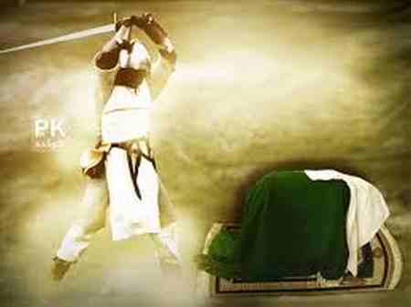 تصاویر ضربت خوردن حضرت علی (ع) (2)