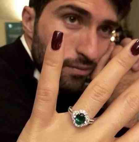 عکس مراسم ازدواج کریم انصاری فرد و میلیاردر یونانی