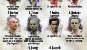 کدام فوتبالیست های معروف سیگار میکشیدند؟