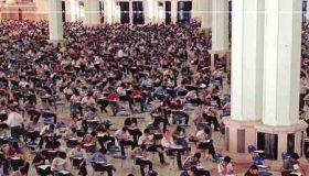 انشا درمورد جلسه امتحان