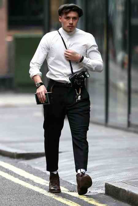 جدیدترین مدل لباس دیوید بکهام در لندن 2019 (10)