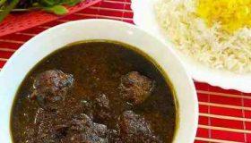 طرز تهیه خانگی انار بیج گیلانی