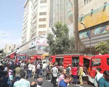 علت آتش سوزی در برج بهار تهران چه بود؟