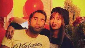 اولین تبریک تولد هادی کاظمی به سمانه پاکدل