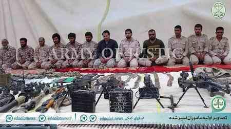 عکس سربازان دزدیده شده در مرز میرجاوه توسط جیش العدل (1)
