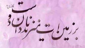 معنی ضرب المثل دشمن دانا بلندت میکند بر زمینت میزند نادان دوست (2)